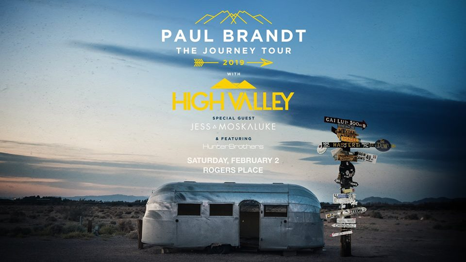 Paul Brandt: The Journey Tour with High Valley & Special Guests @ Rogers Place