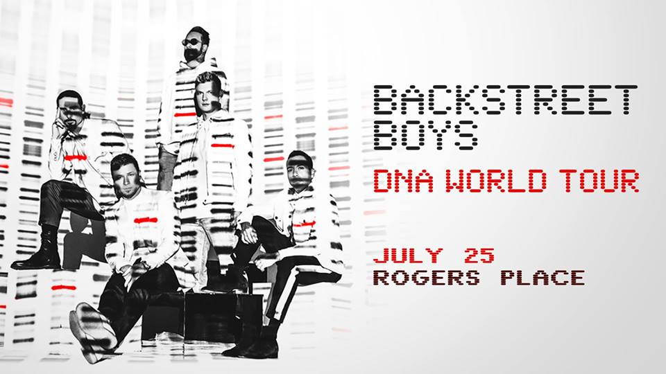 Backstreet Boys: DNA World Tour @ Rogers Place