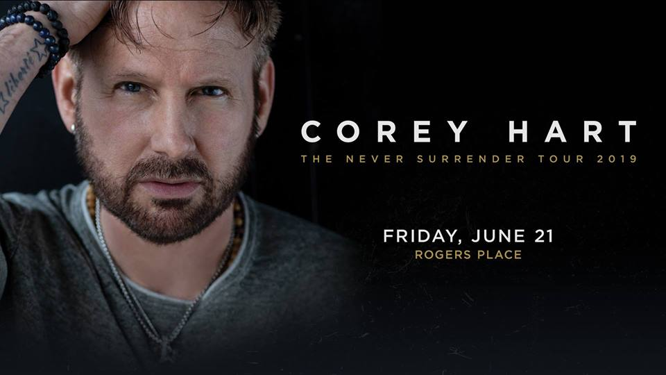 Corey Hart: Never Surrender Tour 2019 @ Rogers Place