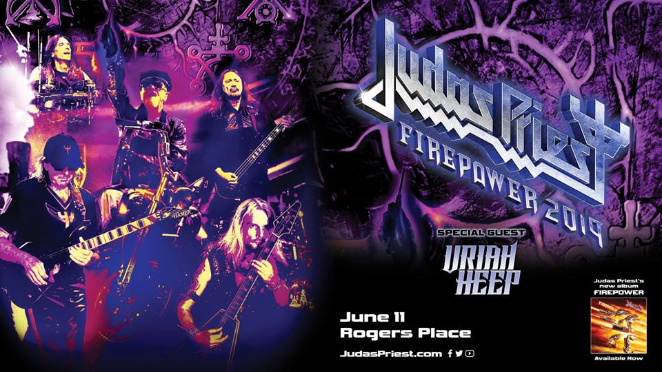 Judas Priest: FIREPOWER 2019 @ Rogers Place