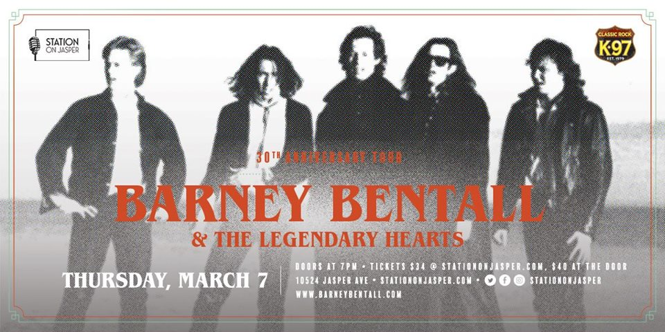 Barney Bentall & The Legendary Hearts @ The Station on Jasper