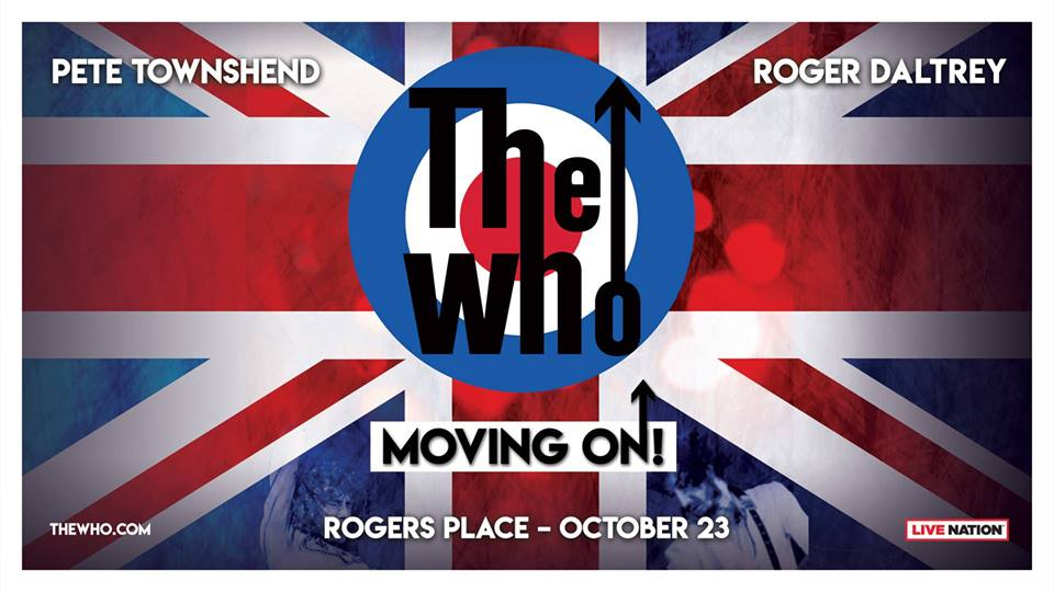 The Who: Moving On! @ Rogers Place Edmonton