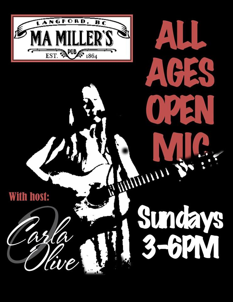Open Mic with Carla Olive