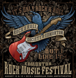 9th Annual Edmonton Rock Music Festival Aug 16-17 2019