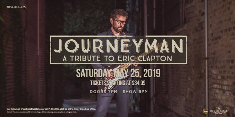 Journeyman - A Tribute to Eric Clapton @ River Cree Casino