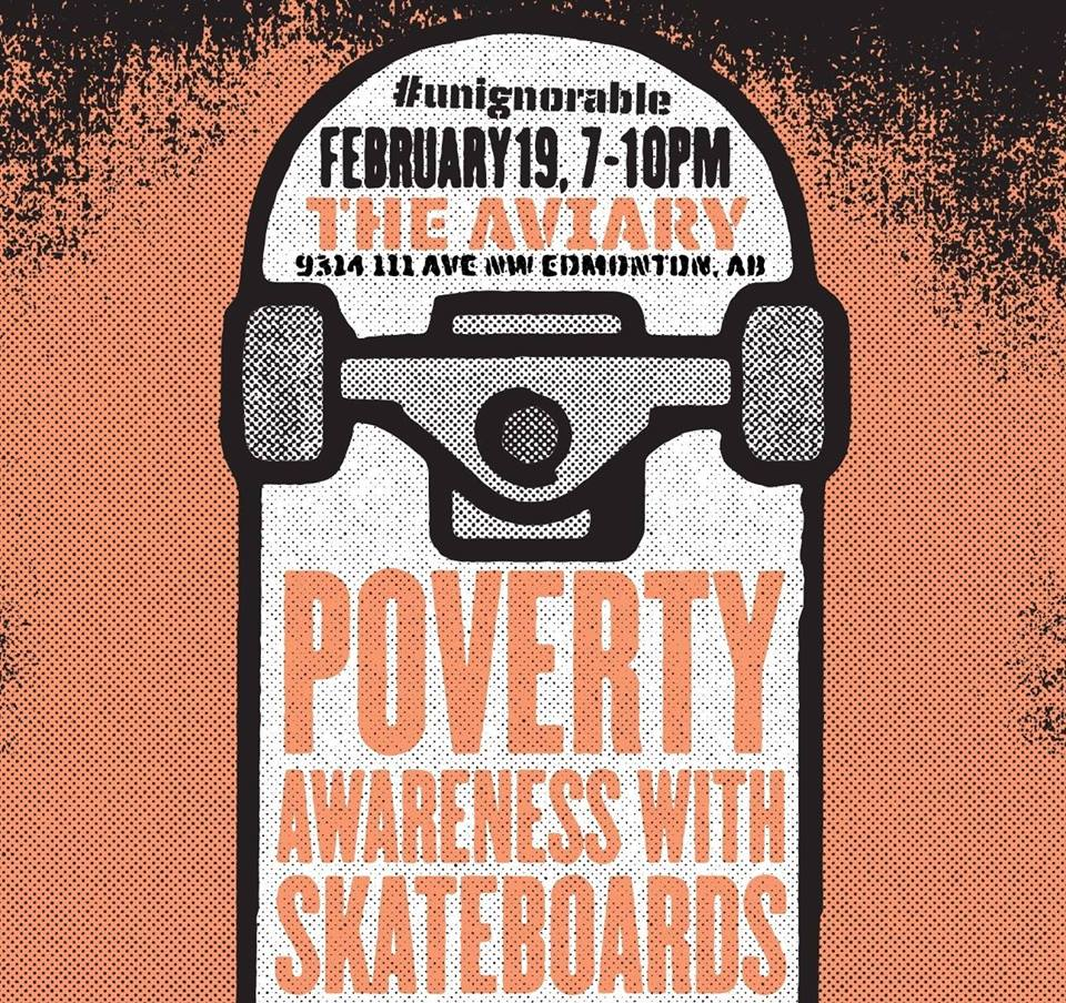 Unignorable: Poverty Awareness with Skateboards Art Show