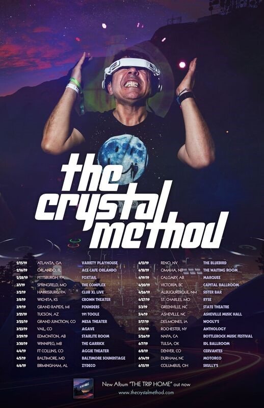 MRG CONCERTS PRESENTS:  The Crystal Method w/ Special Guests @ The Starlite Room