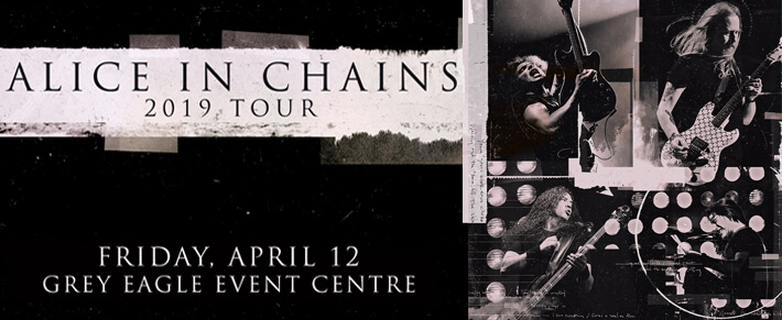 Alice in Chains @ Grey Eagle Resort and Casino