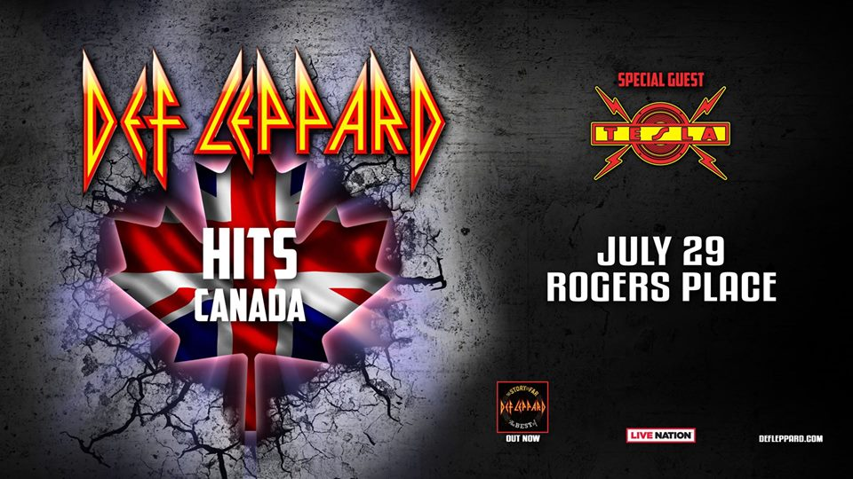 Def Leppard Hits Canada @ Rogers Place
