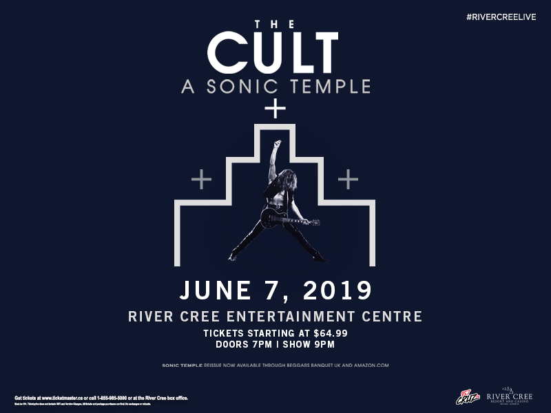 The Cult - A Sonic Temple @ River Cree Resort and Casino