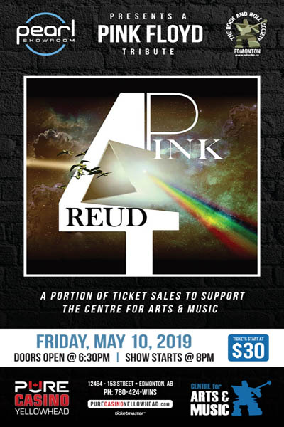 Pink 4reud: Tribute To Pink Floyd @ Pure Casino Yellowhead
