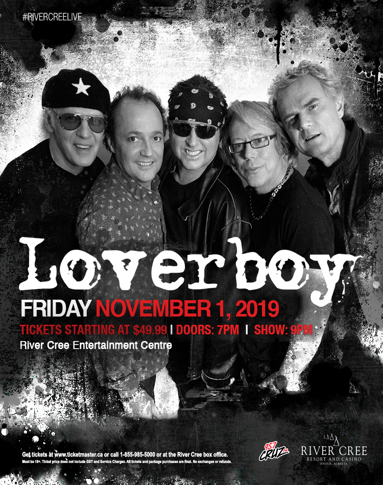 LOVERBOY @ River Cree Resort and Casino