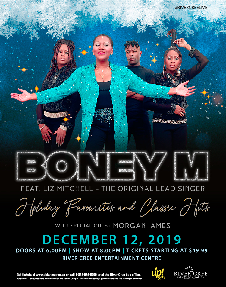 Boney M Feat. Liz Mitchell The Original Lead Singer - Holiday Favorites & Classic Hits @ River Cree Resort and Casino