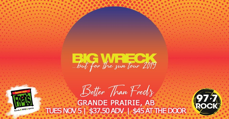 Big Wreck @ Better Than Fred's