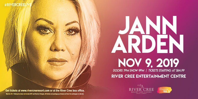 Jann Arden @ River Cree Resort and Casino