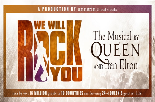 We Will Rock You @ The Jubilee Auditorium Edmonton