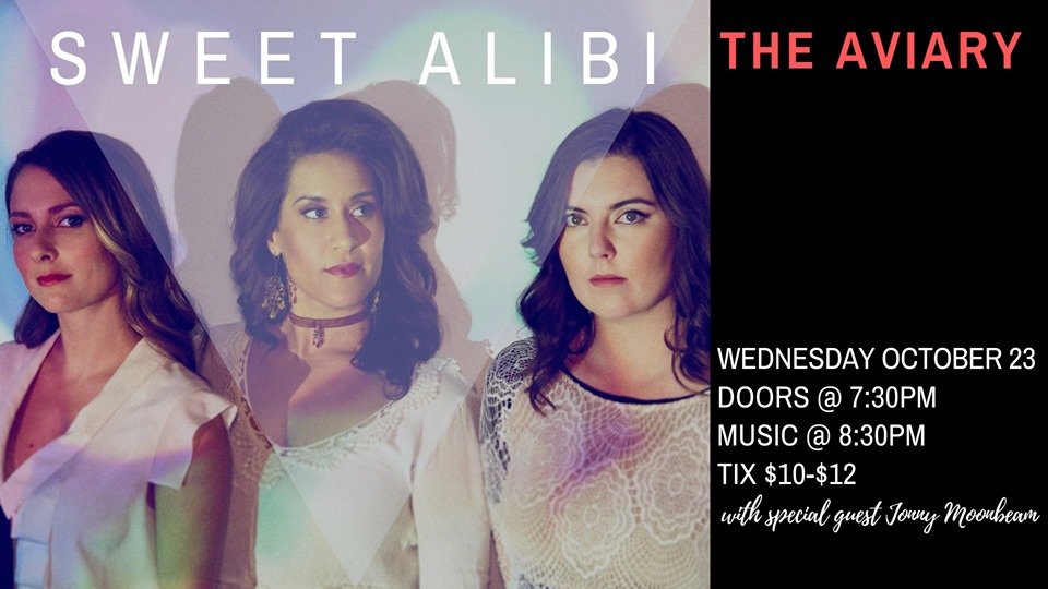 Sweet Alibi Live at The Aviary w/ Jonny Moonbeam