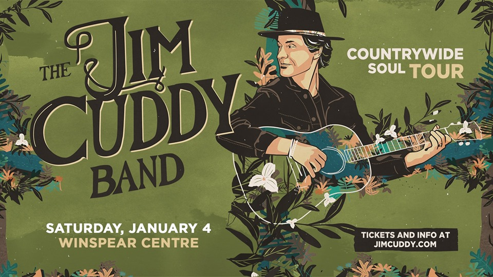 The Jim Cuddy Band: Countrywide Soul Tour @ The Winspear Centre