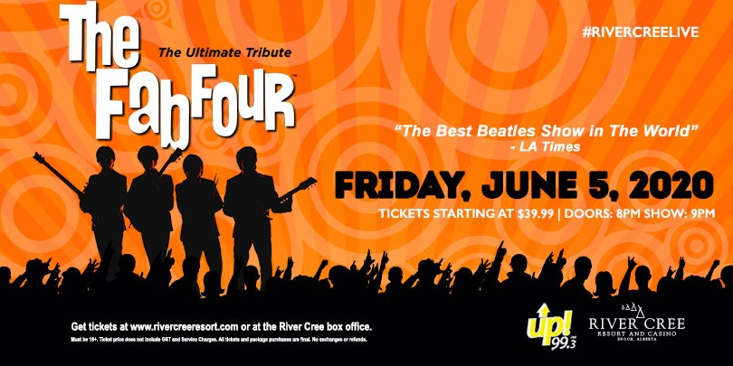 The Fab Four - The Ultimate Tribute @ River Cree