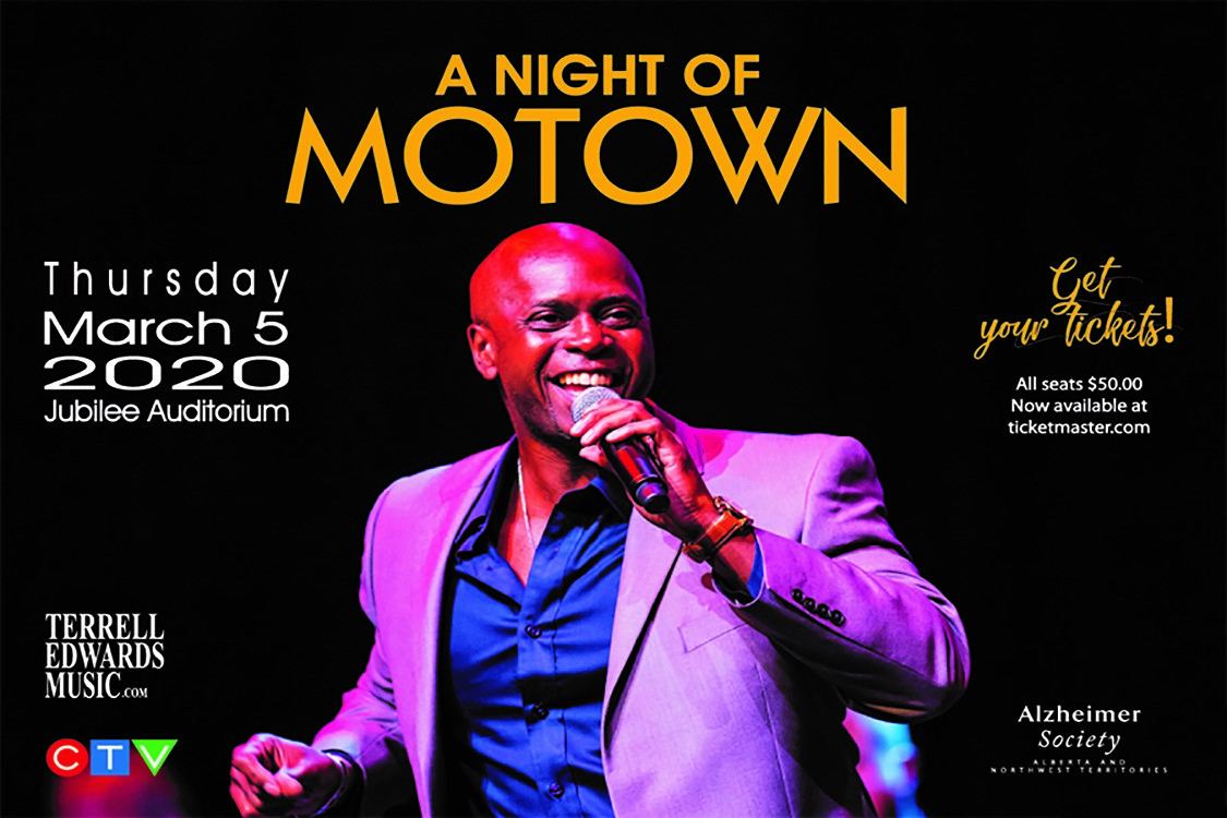 A Night of Motown With Terrell Edwards @ Jubilee Auditorium