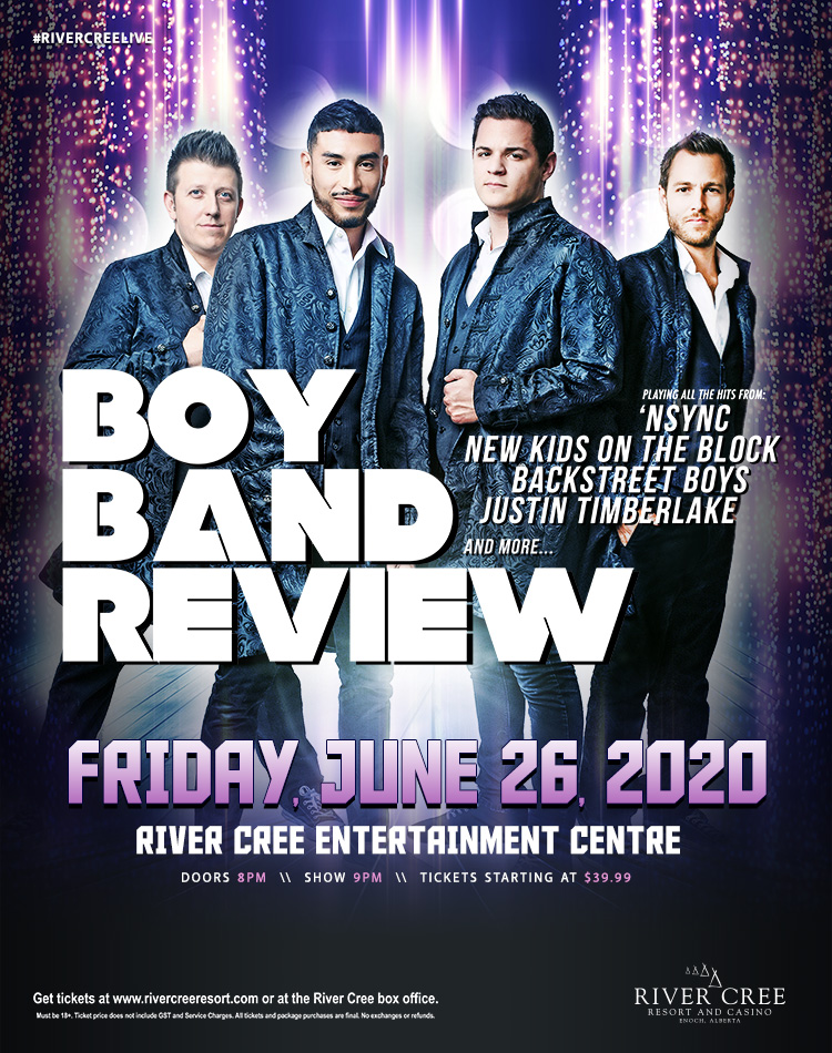BOY BAND REVIEW @ River Cree Resort and Casino