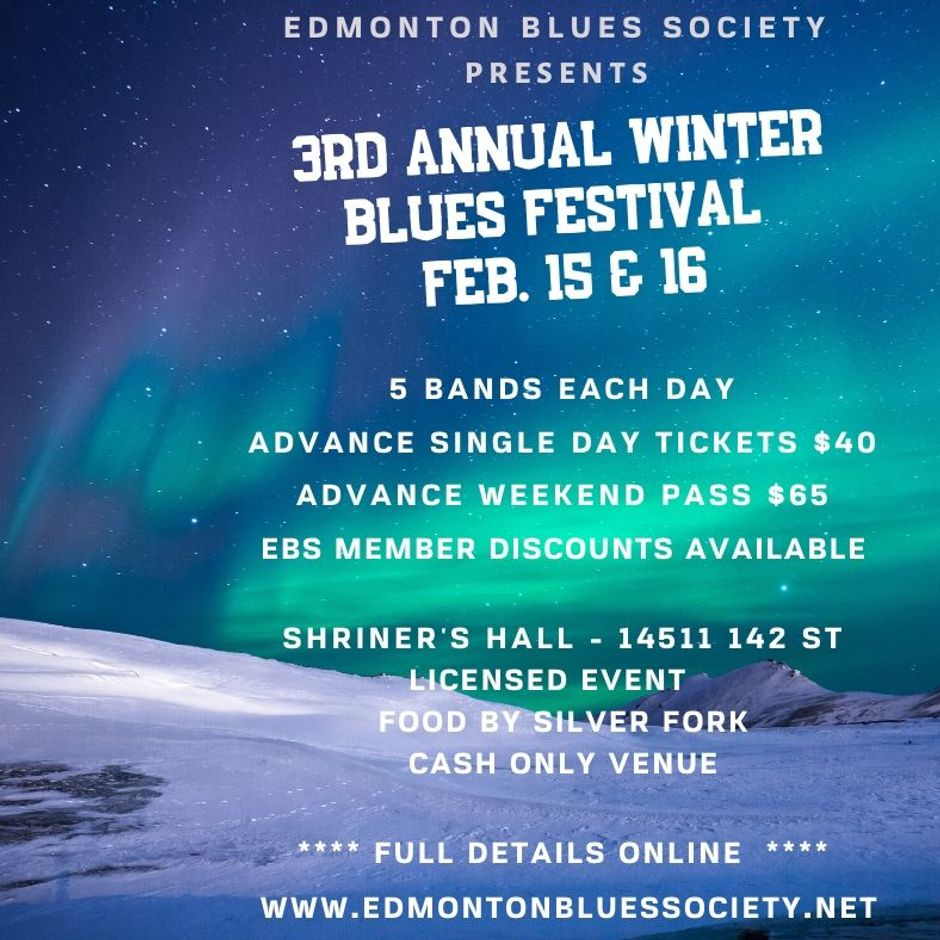 Angir and the iNkleiNs play Edmonton Winter Blues Festival