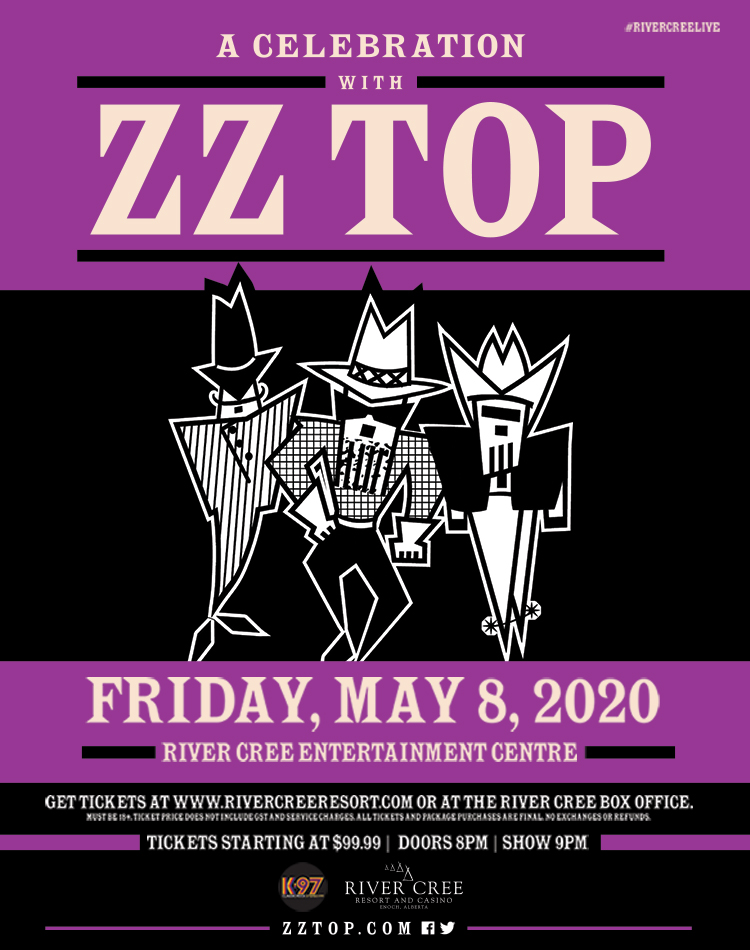 ZZ TOP @ River Cree Resort and Casino