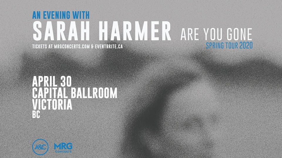 Sarah Harmer - Capital Ballroom (re-scheduled date)